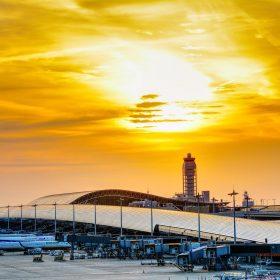 まつお内科写真部 ブログ記事写真 関西国際空港で撮影した写真