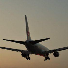 コラム まつお内科写真部 伊丹空港で飛行機を撮影